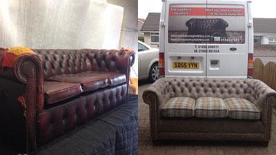 Sofa Recovering In Glasgow Edinburgh Tom Watson Upholstery